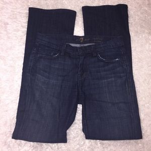 7 For All Mankind Midrise Bootcut Jeans